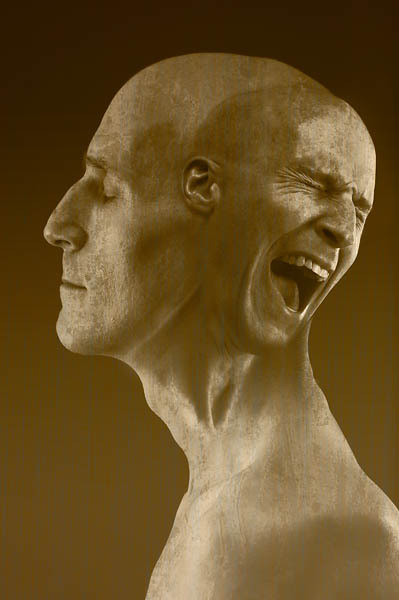 an example of a persona suffering from paranoid schizophrenia